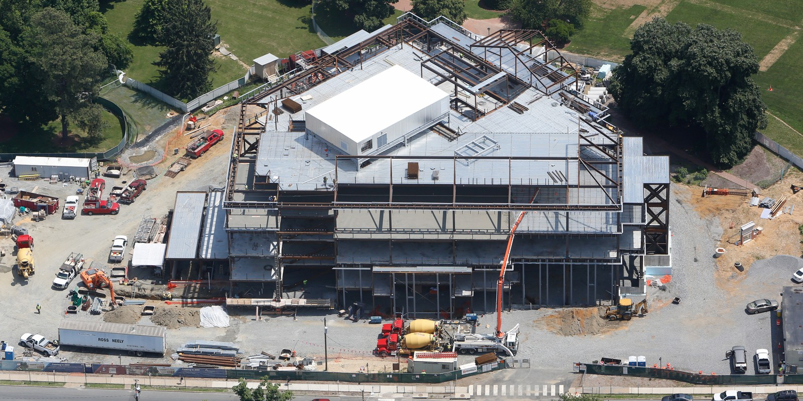 Aerial Construction Progress