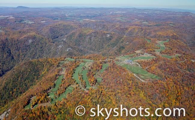 Primland Resort Aerial