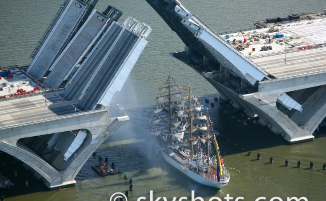 Woodrow Wilson Bridge Aerial