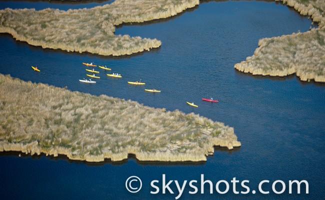 Artistic Kayak Aerial