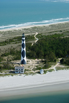Cape Lookout Aerial