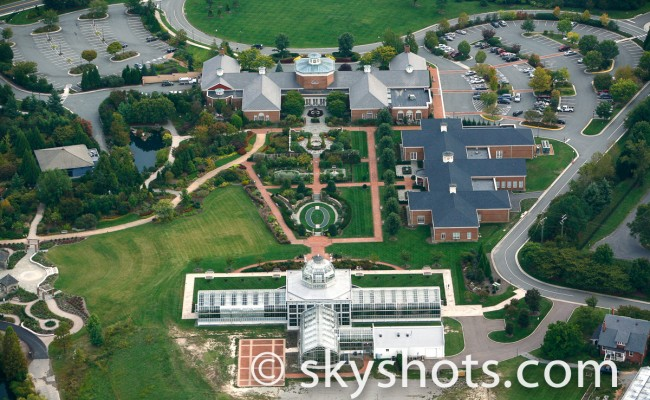 Lewis Ginter Aerial Image
